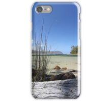Bruny Island's Cloudy Bay Lagoon - edge iPhone Case/Skin