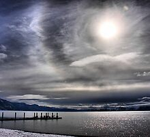 A Winter Sky by Barbara  Brown
