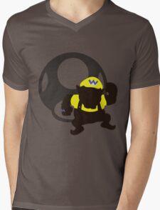 Wario (Mario) - Sunset Shores Mens V-Neck T-Shirt