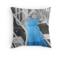 Blue... Throw Pillow