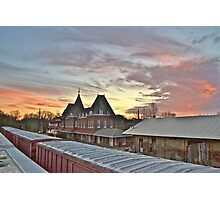 Depot. Holly Springs, Mississippi. Photographic Print