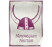 Norwegian Nectar Tea Poster