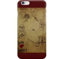 Coffees journey iPhone Case/Skin