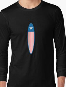 American Surfboard. Long Sleeve T-Shirt