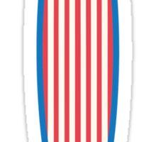 American Surfboard. Sticker