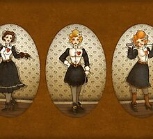 Victorian Fencer 1-3 by helloheath