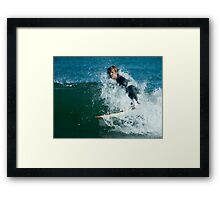 Wave Runner Wipeout © Framed Print