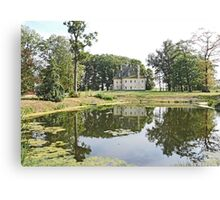 Zonnebeke Chateau Canvas Print