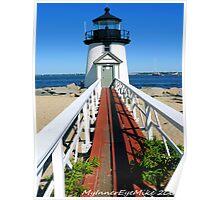 #512   Brant Point Lighthouse Poster