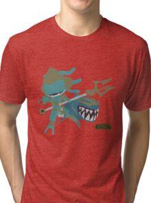 LoL | Minimalist Atlantean Fizz Tri-blend T-Shirt