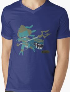 LoL | Minimalist Atlantean Fizz Mens V-Neck T-Shirt