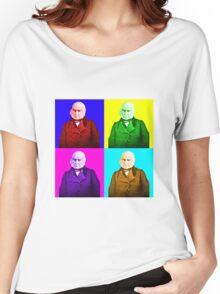John Quincy Adams Pop Art Women's Relaxed Fit T-Shirt