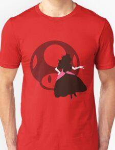 Peach (Mario) - Sunset Shores T-Shirt