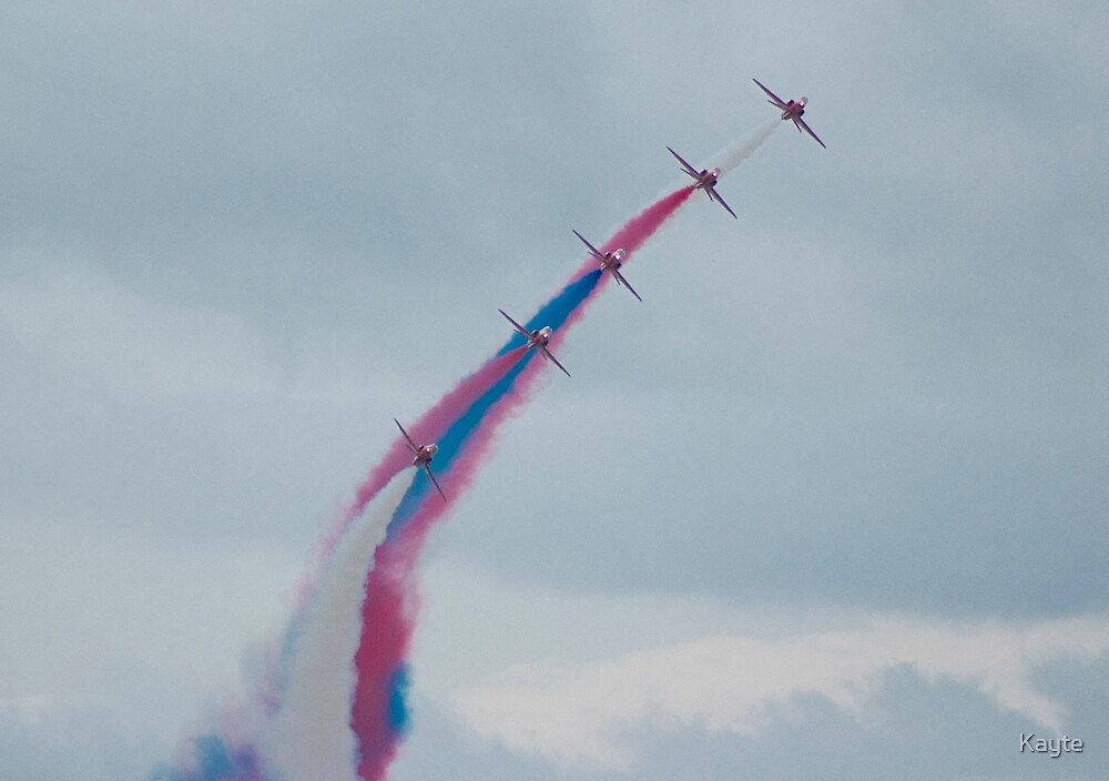 The Red Arrows by Kayte