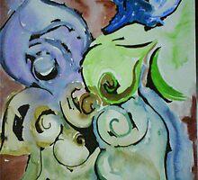 Aquarell Fantasia by ArtGenovee