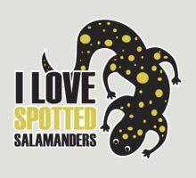 I Love Spotted Salamanders T-Shirt