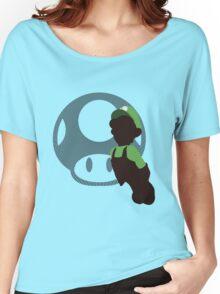 Luigi (Mario) - Sunset Shores Women's Relaxed Fit T-Shirt