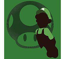 Luigi (Mario) - Sunset Shores Photographic Print