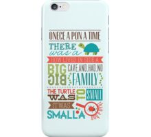 """Smalla than a bug"" iPhone Case/Skin"
