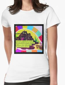 candy land game gloppy Womens Fitted T-Shirt
