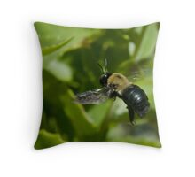 flight of the you-know-what Throw Pillow