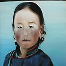 girl from mongolia by karien deroo