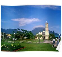 Volcano Arenal on a sunny morning, Costa Rica Poster