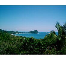 Punta Catedral, National Park Manuel Antonio Costa Rica Photographic Print