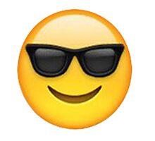 sun-glass emoji by annnaalove