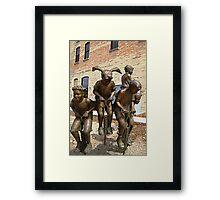 Urban Action Framed Print