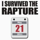 I Survived The Rapture (May 2011) by jezkemp