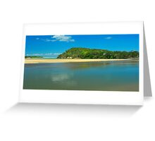 Red Rock Estuary Greeting Card