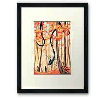 """My Glooms """"First contact"""" Framed Print"""