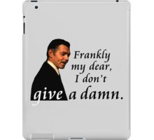 Frankly My Dear iPad Case/Skin