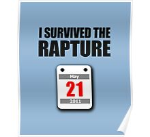 I Survived The Rapture (May 2011) Poster