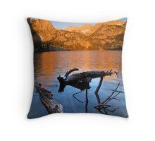 Horton Lake Sunrise Throw Pillow