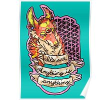 art is anything Poster