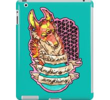 art is anything iPad Case/Skin