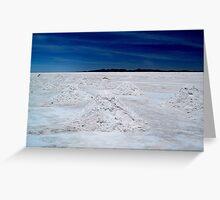 Salt Mounds Greeting Card