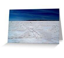 Salt Mounds Greeting Card