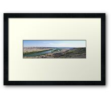 Horse Theif Canyon, Alberta Framed Print