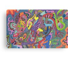 Animated Color Canvas Print