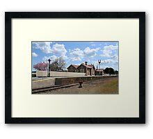 Mount Barker Railway Station Framed Print