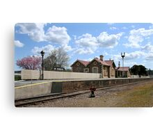 Mount Barker Railway Station Canvas Print