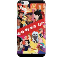 Woman Up! iPhone Case/Skin