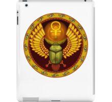Symbol of the god the sacred solar bug iPad Case/Skin