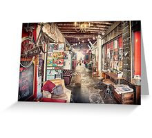 Moore & Moore Cafe Greeting Card