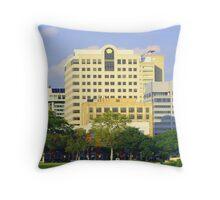 Keystone Building Throw Pillow