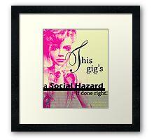This Gig Framed Print