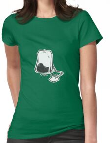 TEA BAG Womens Fitted T-Shirt